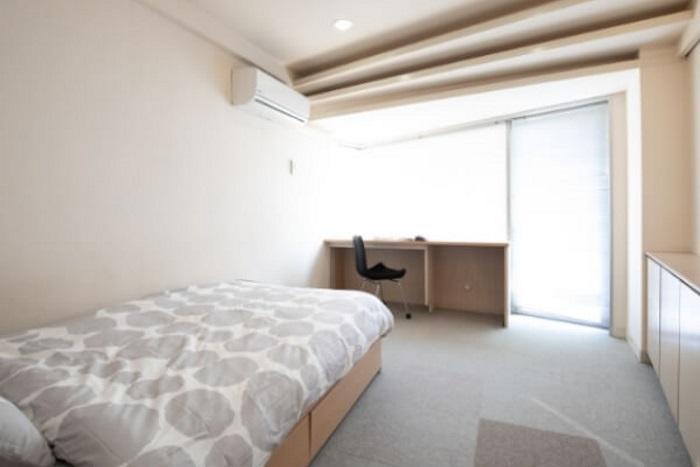 アミーダヨガアカデミーの宿泊施設の個室