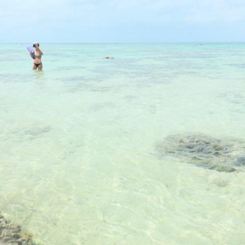 新城海岸の水深