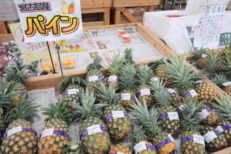 あたらす市場のパイナップル