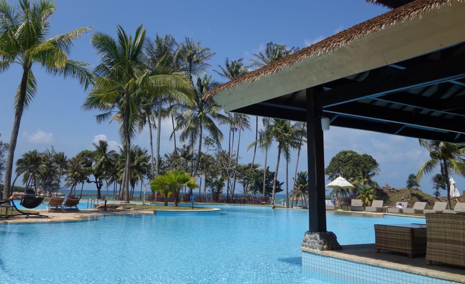 ビンタン・ラグーン・リゾートホテルのプール