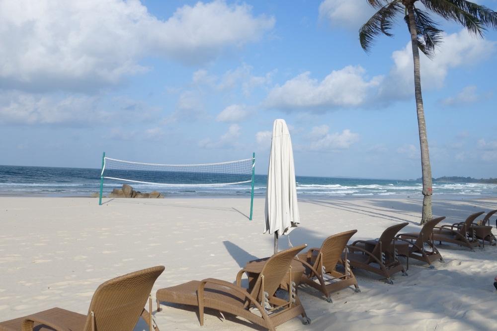 ビンタンラグーンリゾートのプライベートビーチ