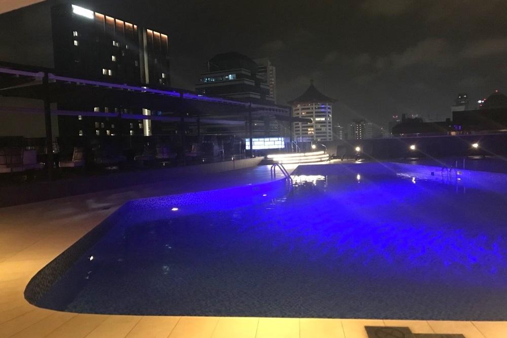 ヒルトン・シンガポールのプール