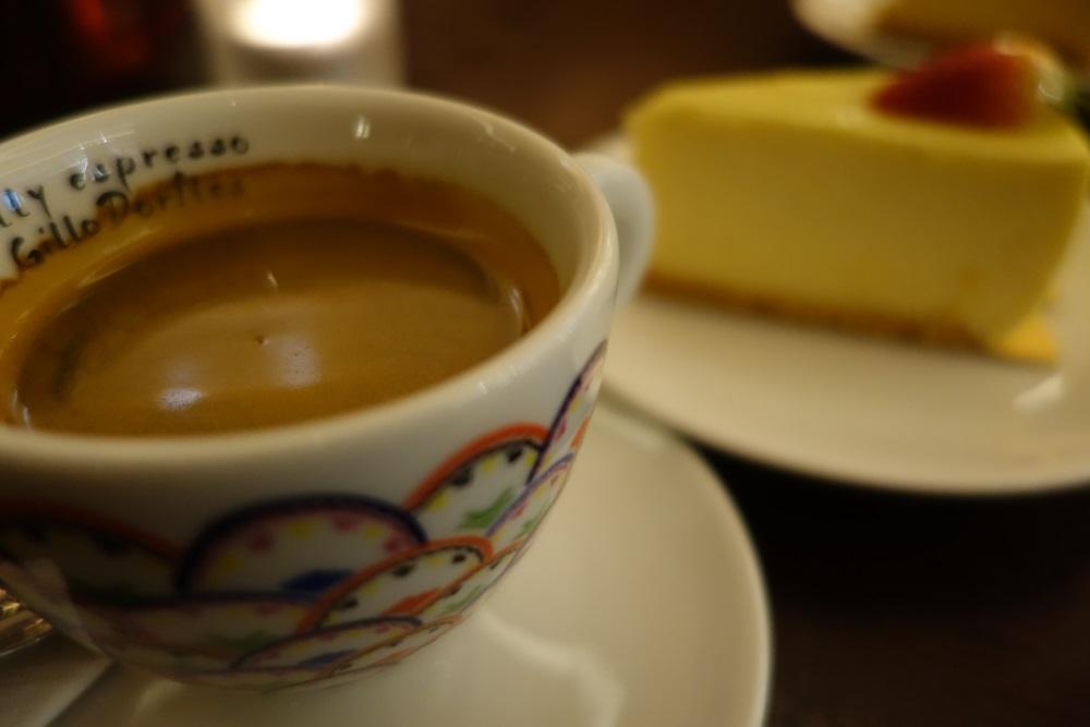 シンガポール・ヒルトンのチーズケーキ