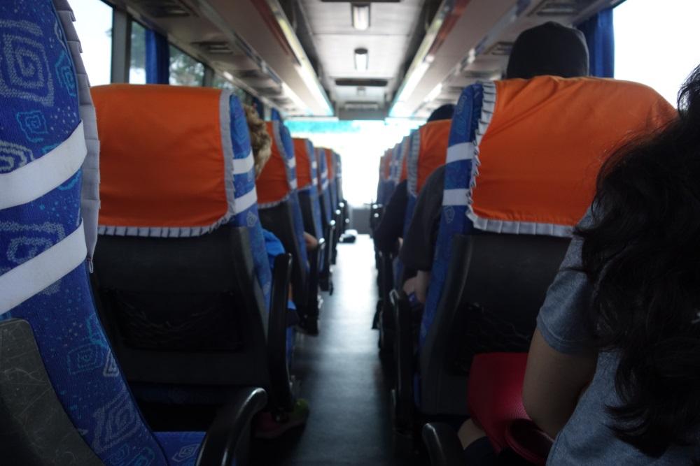 ビンタン、島ホテルの送迎バス