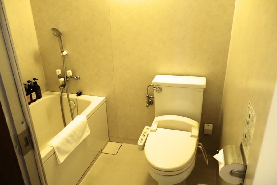 ホテルブリーズベイマリーナ「アネックスコンドミニアム」のバスルーム