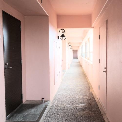 ホテルブリーズベイマリーナ「アネックスコンドミニアム館」の廊下