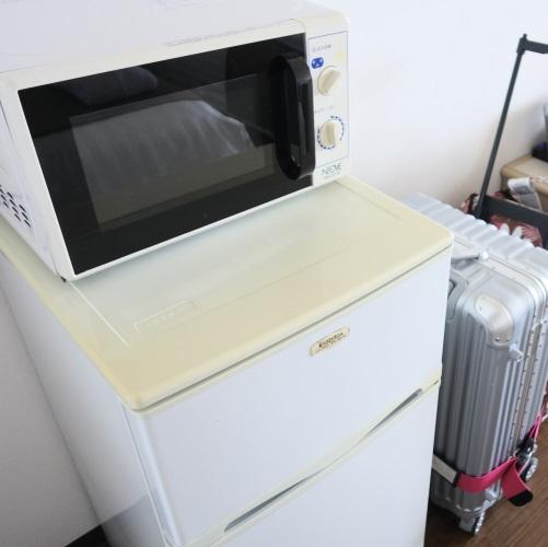 ホテルブリーズベイマリーナ「アネックスコンドミニアム」の冷蔵庫