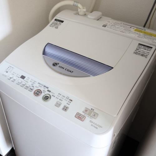 ホテルブリーズベイマリーナ「アネックスコンドミニアム」の洗濯機