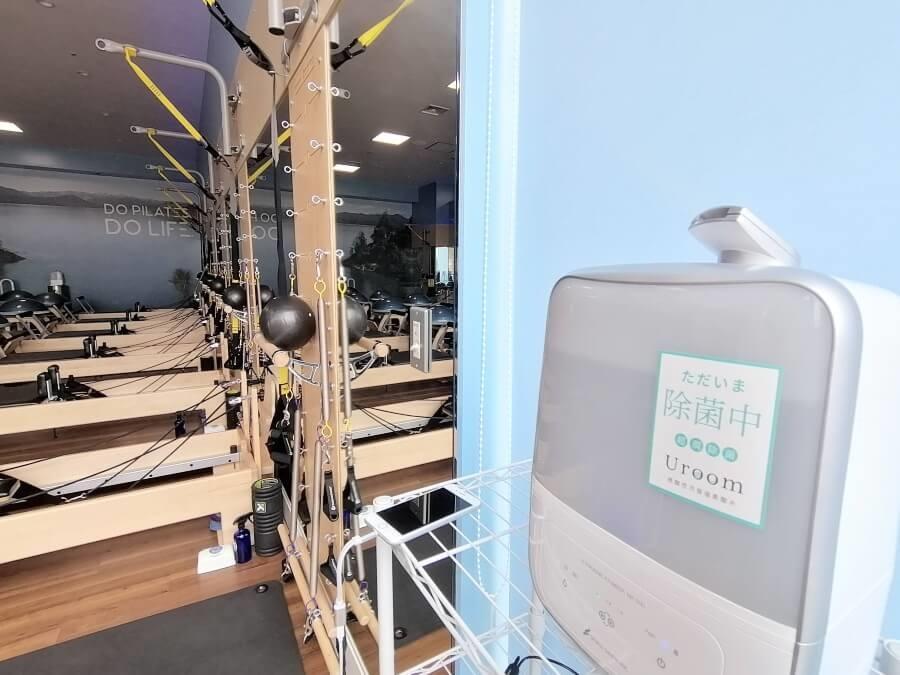 CLUB PILATES(クラブピラティス)の空気清浄機