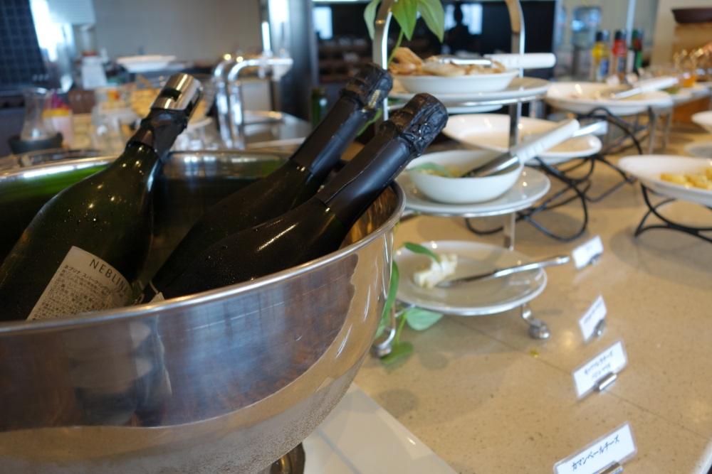 サイプレスリゾートの朝食ビュッフェ