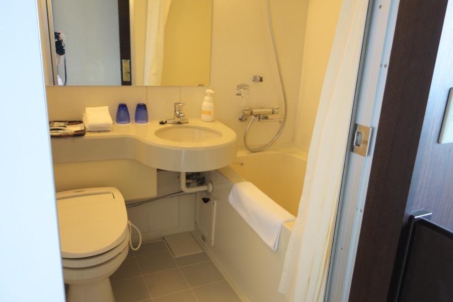 サイプレスリゾート久米島のシャワールーム