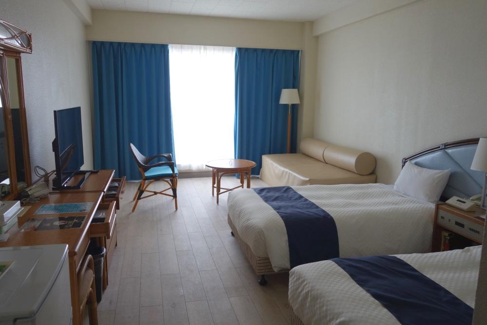 イーフビーチホテルの客室