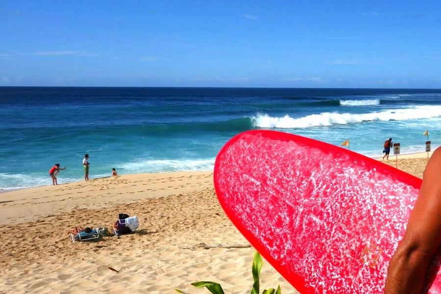 ハワイのおすすめビーチ「サンセットビーチ」