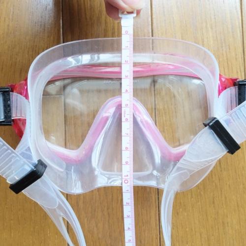 HeleiWaho(ヘレイワホ)のマスクの縦の長さ