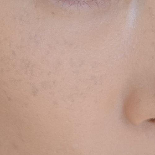 It Cosmetics(イットコスメティクス)CC+クリームを1回ぬったところ