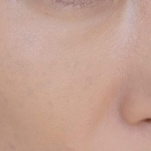 It Cosmetics(イットコスメティクス)CC+イルミネーションクリームを2回ぬったところ