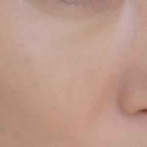 It Cosmetics(イットコスメティクス)CCとCCイルミネーションクリームを混ぜてぬったところ