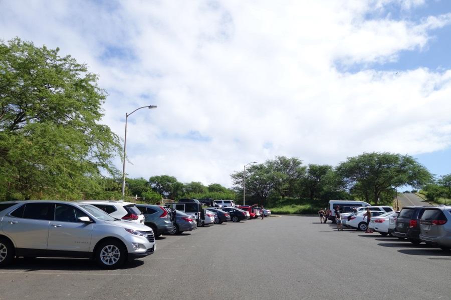 ココヘッドの駐車場