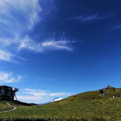 駒ヶ岳山頂の様子