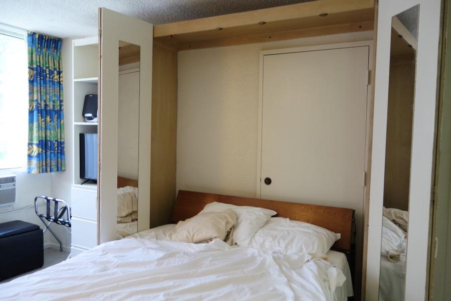 クヒオバニヤンクラブのベッド