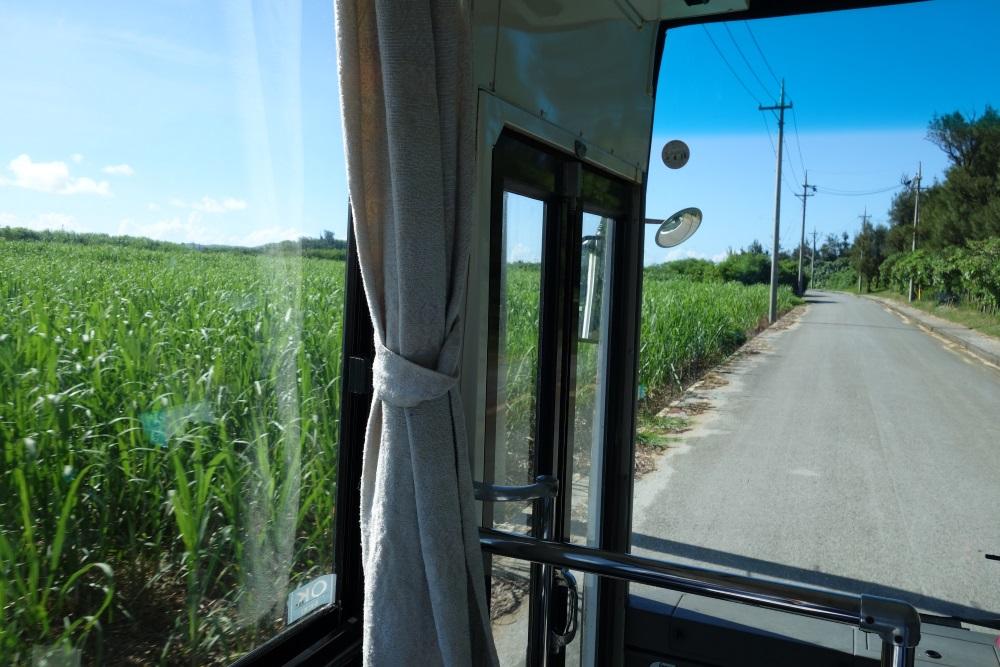 サイプレスリゾート久米島の送迎バス
