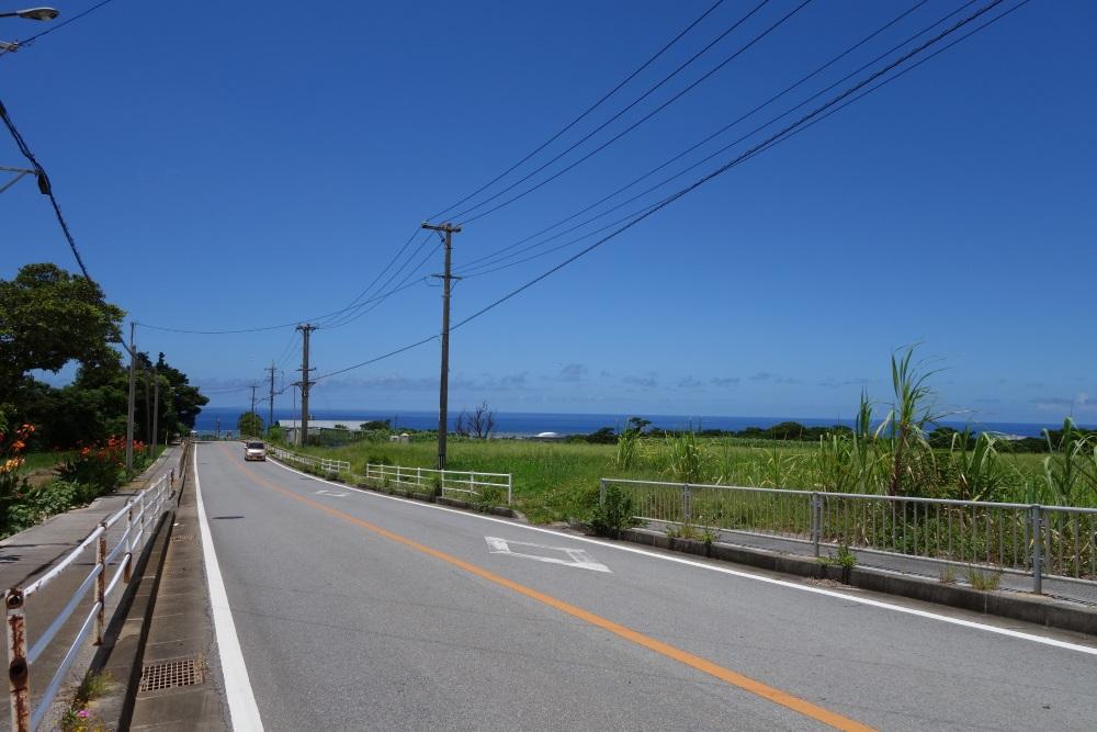 久米島県道242号線