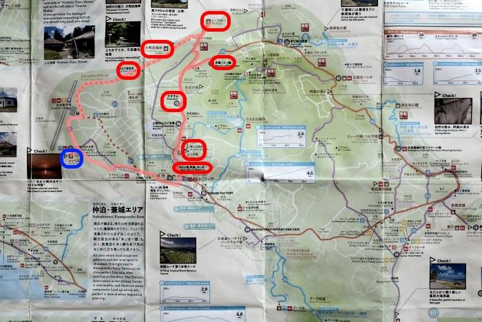 久米島のサイクリングコース