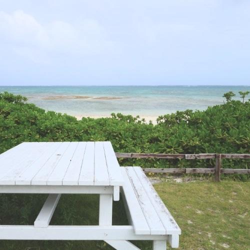 イーフビーチホテルから見たイーフビーチ
