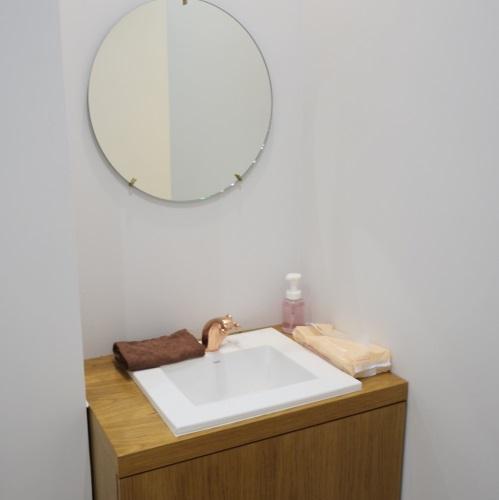 ララエステの洗面所