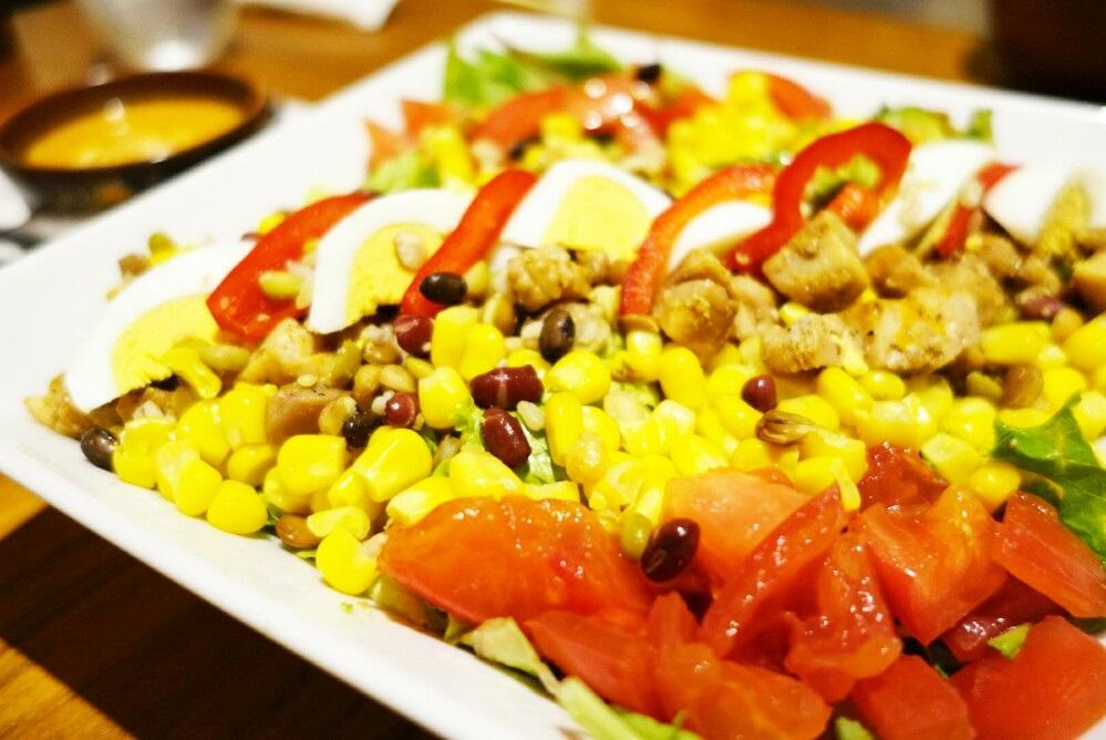 ラ・オハナのコブサラダ