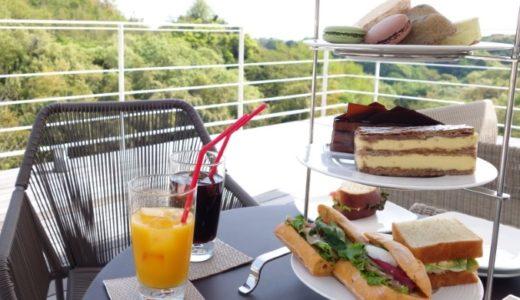 鎌倉山のカフェ「ル・ミリュウ」で絶景を眺めながらの絶品サンド&ケーキ!