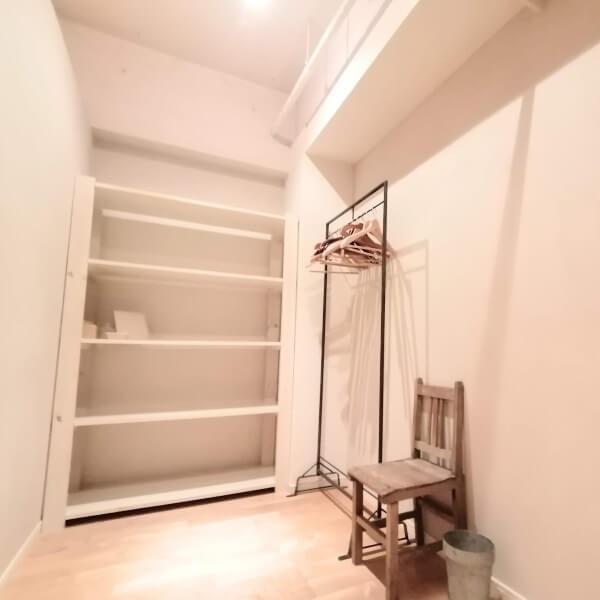 リラヨガ・インスティテュートの女性用更衣室