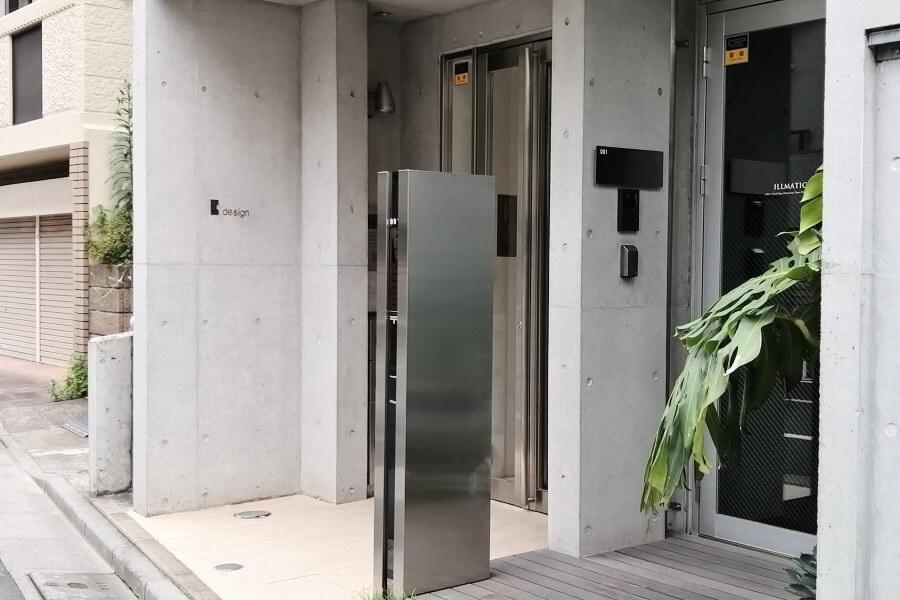 パーソナルジムLiME(ライム)が入っているビルの外観