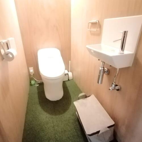 パーソナルジムLiME(ライム)のトイレ