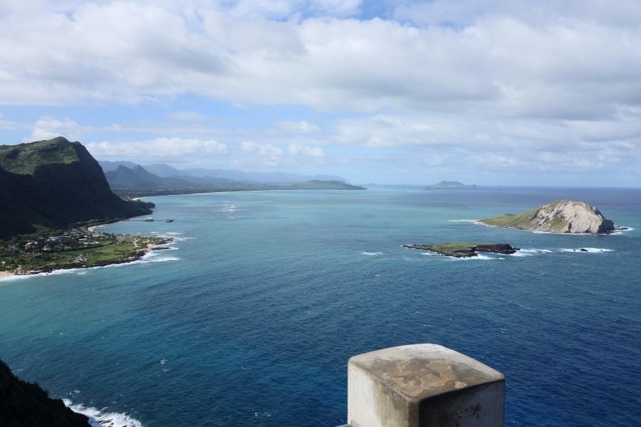 マカプウ岬展望台からの眺め