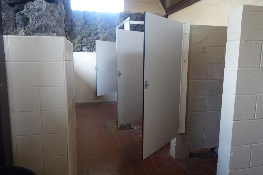 マカプウビーチのトイレ
