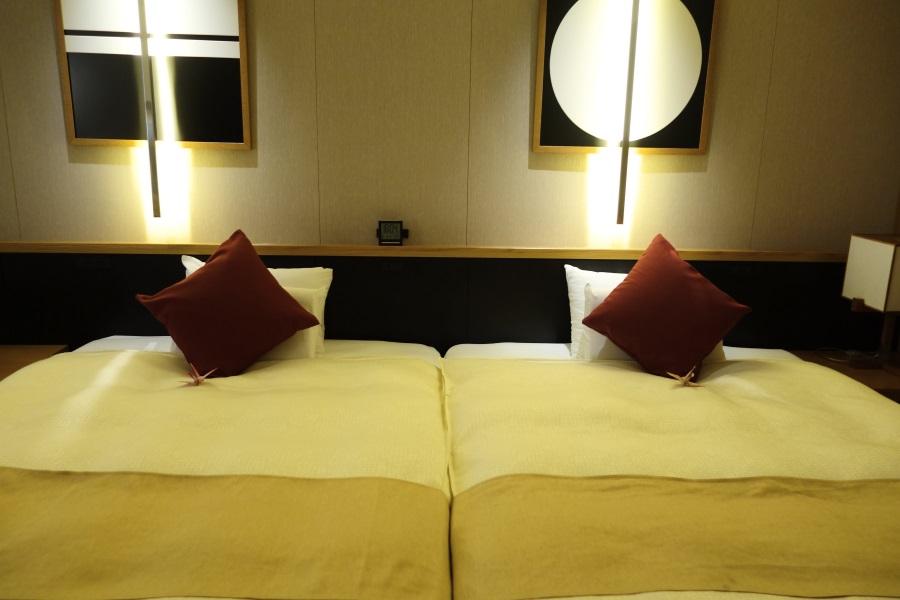 南風楼グランドオーシャンズのベッド