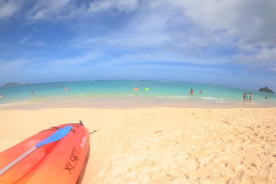 オアフ島の観光スポット「ビーチ」