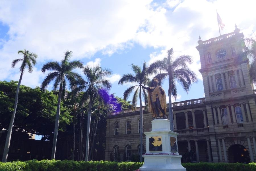 オアフ島の観光スポット「ハワイ州最高裁判所」