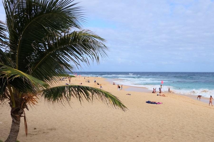 ハワイカイの観光スポット④サンディービーチ