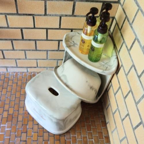 ホテルおくゆもとの内風呂のアメニティ
