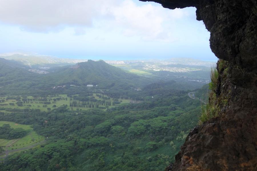 Pali Puka(パリプカ)からの眺め