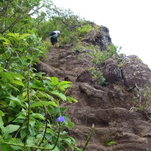 Pali Puka(パリプカ)の岩場