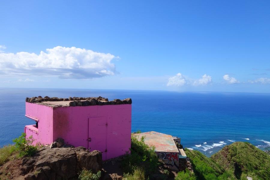 ハワイおすすめのオプショナルツアー「ピンクピルボックス」