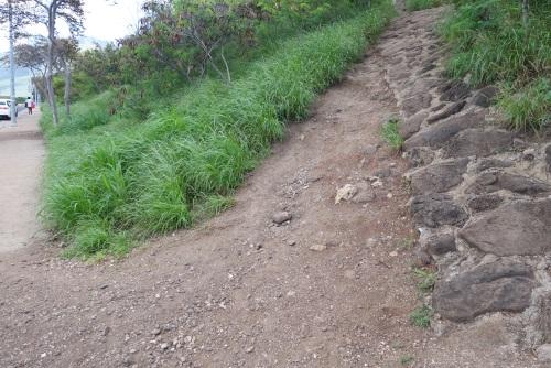 ピンクピルボックスの登山口