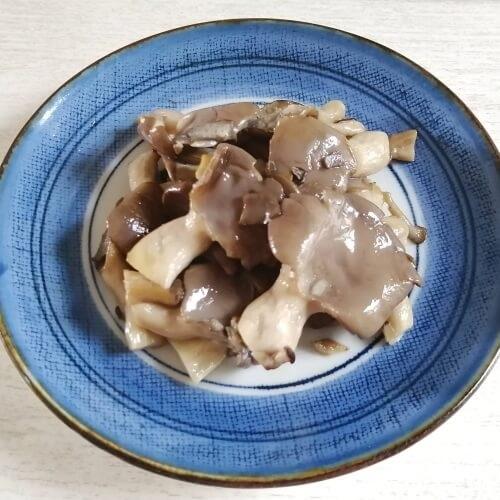坂ノ途中の旬のお野菜セットで作ったキノコのソテー