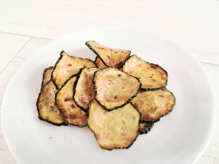 坂ノ途中の旬のお野菜セットで作ったズッキーニチップス
