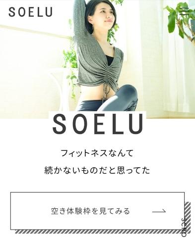 SOELUの無料体験予約画面