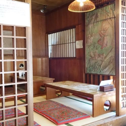 松琴楼の座敷席