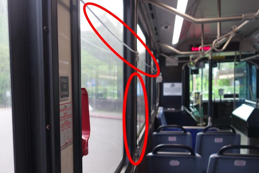 ザ・バスのワイヤー